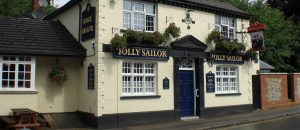 The Jolly Sailor in St Albans, one of Charles Wells' South Herts pubs