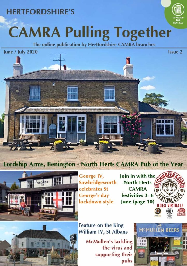 CAMRA Pulling Together Issue 2 Cover